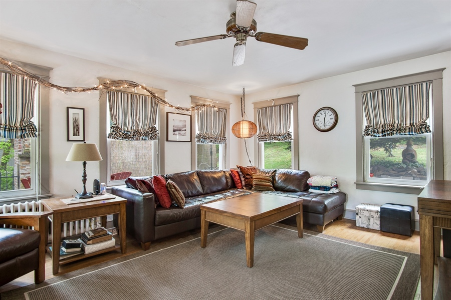 Real Estate Photography - 203 Grandview Ave, Wilmington, DE, 19809 - Family room