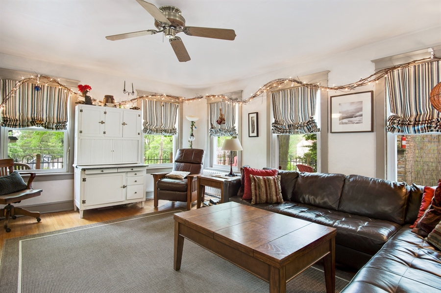 Real Estate Photography - 203 Grandview Ave, Wilmington, DE, 19809 - Family room w/ plenty of windows.
