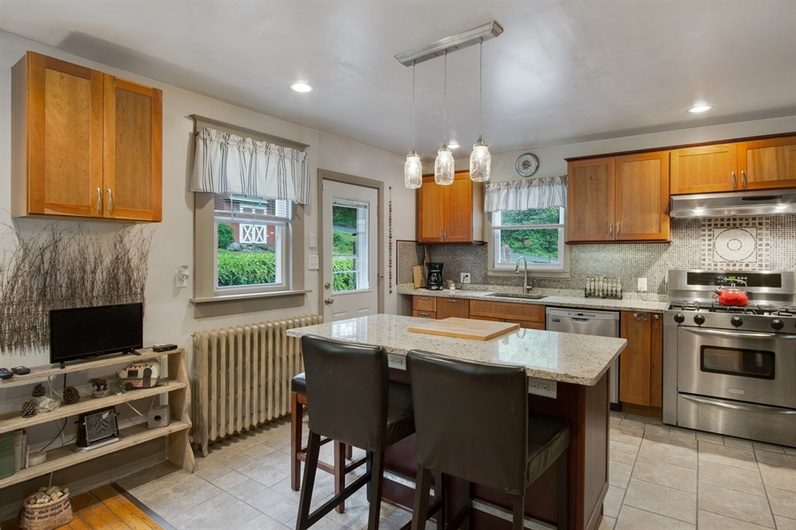 Real Estate Photography - 203 Grandview Ave, Wilmington, DE, 19809 - Updated Kitchen w/ granite and more.