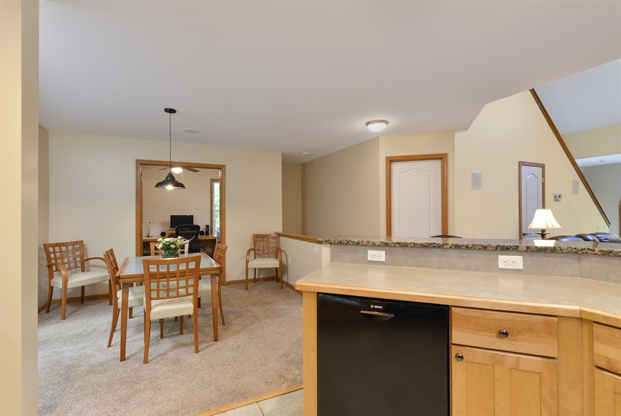 Real Estate Photography - 1155 Shady Beach Rd, Elkton, MD, 21921 - View from Kitchen, Bosch dishwasher 2017