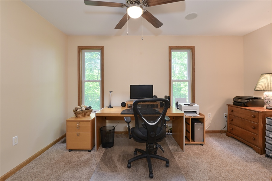 Real Estate Photography - 1155 Shady Beach Rd, Elkton, MD, 21921 - Home office/work center just off Dining area