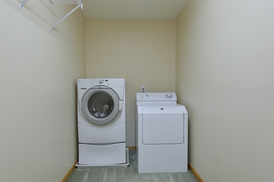 Real Estate Photography - 1155 Shady Beach Rd, Elkton, MD, 21921 - Laundry upstairs, w/d included as-is, works great