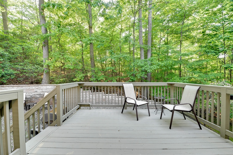 Real Estate Photography - 1155 Shady Beach Rd, Elkton, MD, 21921 - Private deck, enclosed propane line to Weber grill