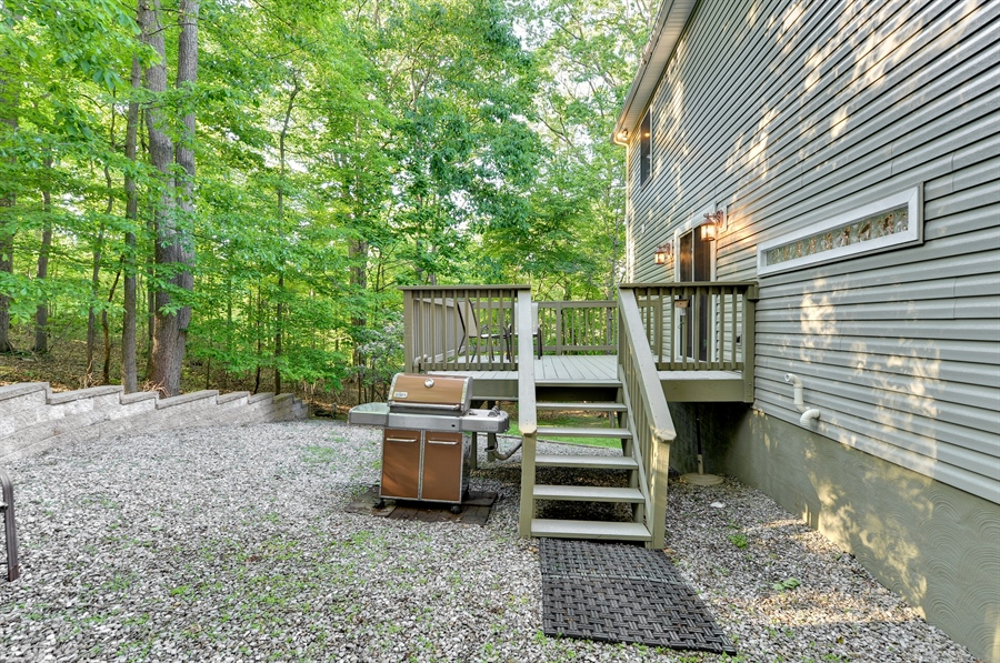 Real Estate Photography - 1155 Shady Beach Rd, Elkton, MD, 21921 - Weber included as-is, used almost year round