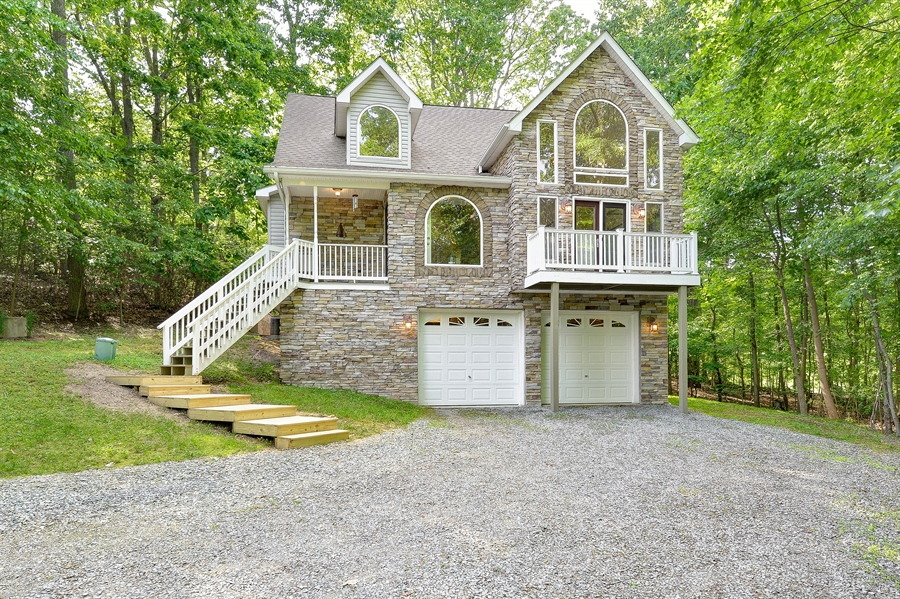 Real Estate Photography - 1155 Shady Beach Rd, Elkton, MD, 21921 - Originally, not much stone. We changed that.