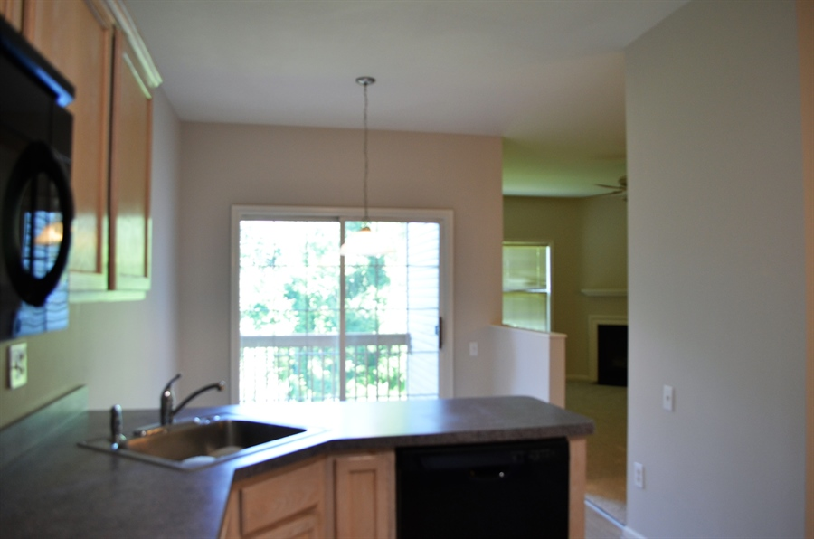 Real Estate Photography - 2208 Braken Ave, Wilmington, DE, 19808 - Another View of Kitchen into Breakfast Area