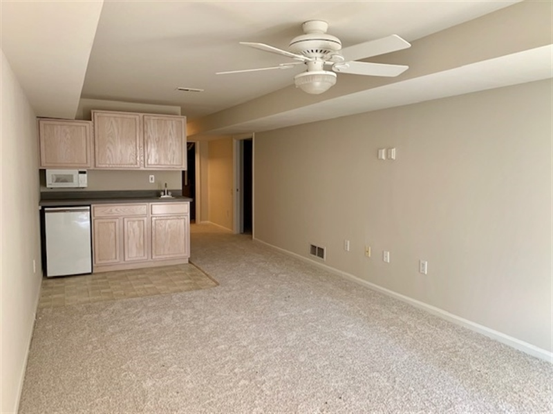 Real Estate Photography - 2208 Braken Ave, Wilmington, DE, 19808 - Finished Basement w Full Bathroom & Bedroom