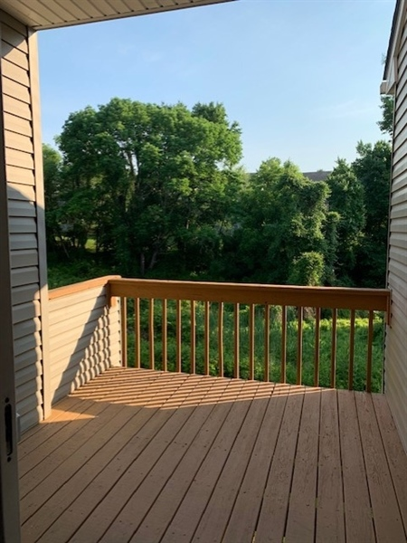 Real Estate Photography - 2208 Braken Ave, Wilmington, DE, 19808 - Great Views from the Deck