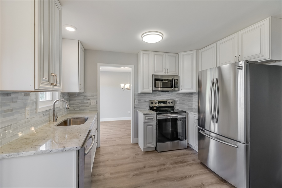 Real Estate Photography - 81 Goshawk Ln, Camden Wyoming, DE, 19934 - Beautifully remodeled kitchen