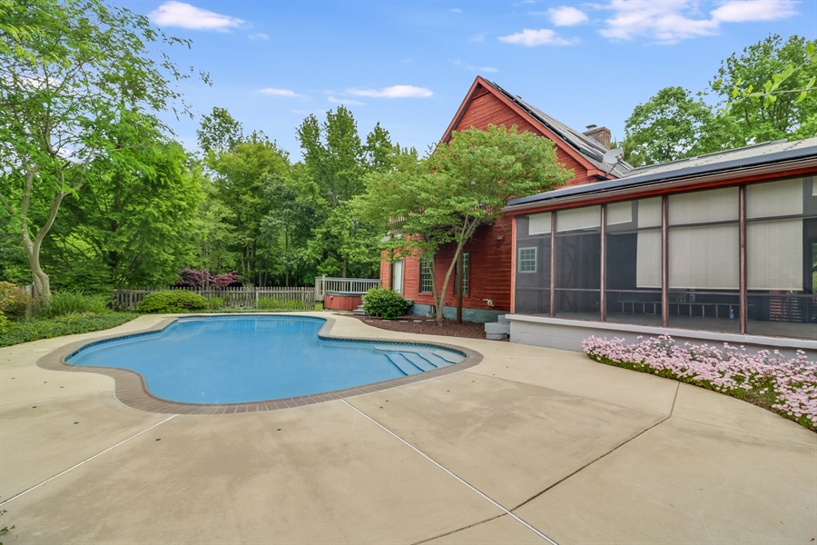 Real Estate Photography - 827 Locust Point Rd, Elkton, MD, 21921 - In Gound Pool