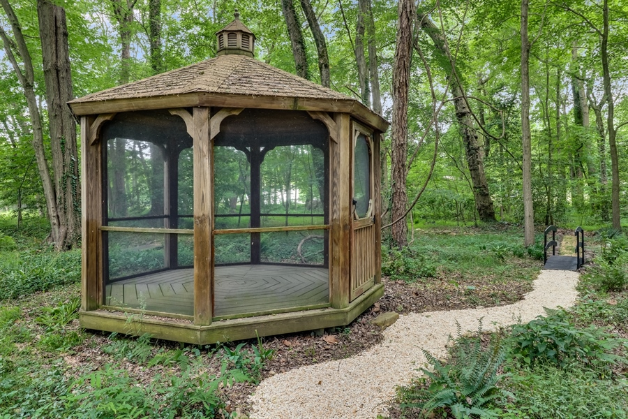 Real Estate Photography - 827 Locust Point Rd, Elkton, MD, 21921 - Gazebo