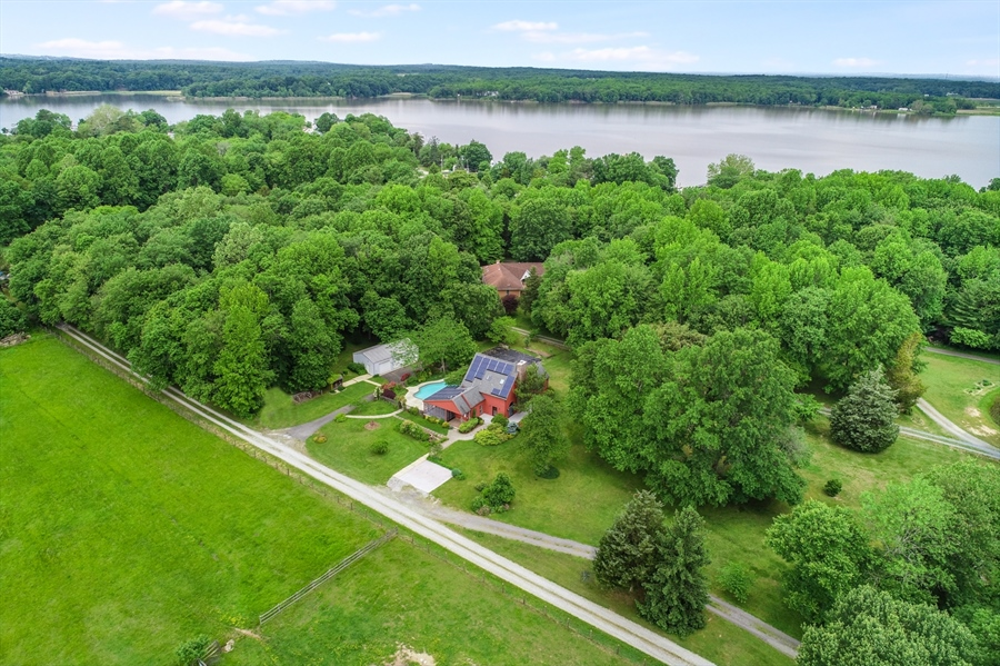 Real Estate Photography - 827 Locust Point Rd, Elkton, MD, 21921 - Ariel View