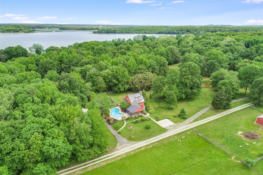 Real Estate Photography - 827 Locust Point Rd, Elkton, MD, 21921 - Ariel View of Property