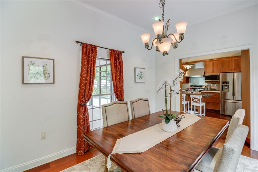 Real Estate Photography - 827 Locust Point Rd, Elkton, MD, 21921 - Dining Room