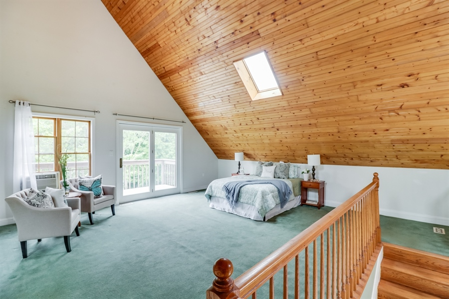 Real Estate Photography - 827 Locust Point Rd, Elkton, MD, 21921 - Master Bedroom in Loft