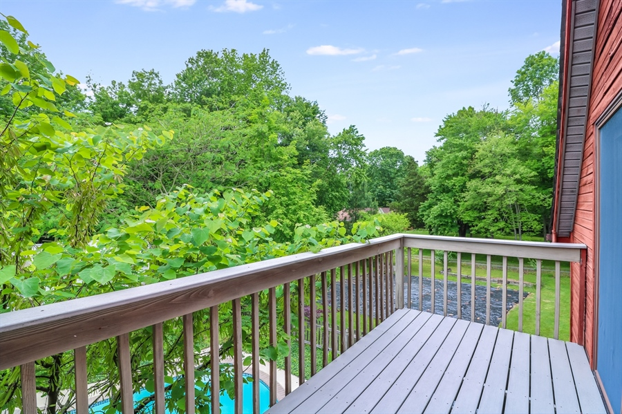 Real Estate Photography - 827 Locust Point Rd, Elkton, MD, 21921 - Balcony off Master Bedroom