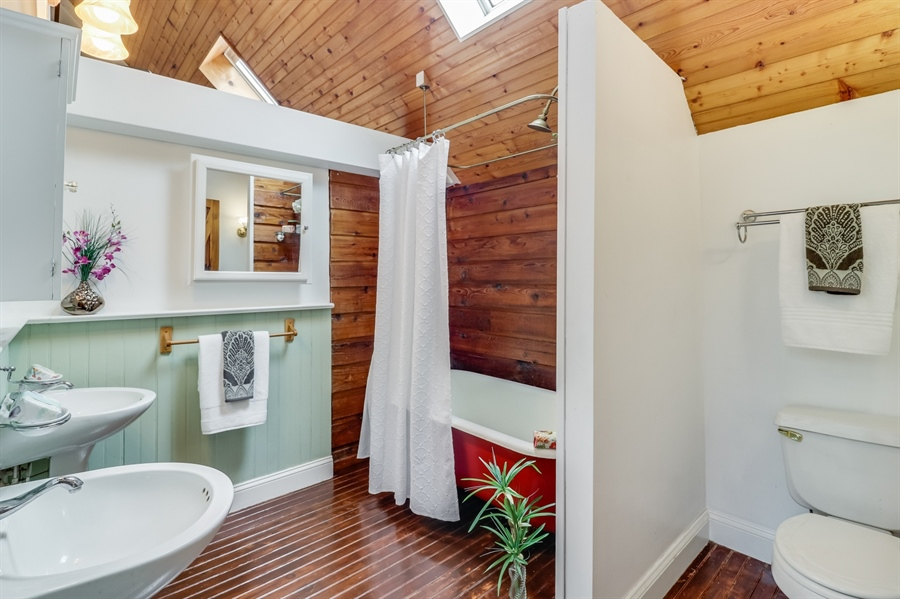 Real Estate Photography - 827 Locust Point Rd, Elkton, MD, 21921 - Master Bathroom