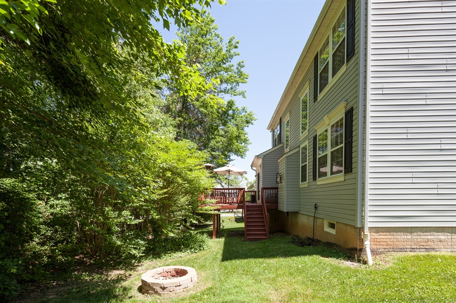 Real Estate Photography - 3 McArthur Ln, Elkton, MD, 21921 - Back Yard and Deck