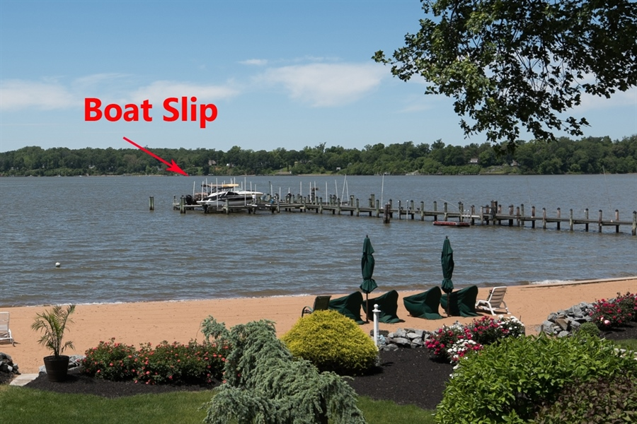 Real Estate Photography - 64 Shipwatch Ln, Chesapeake City, MD, 21915 - Boat slip 15,000lb lift, GEM remote control
