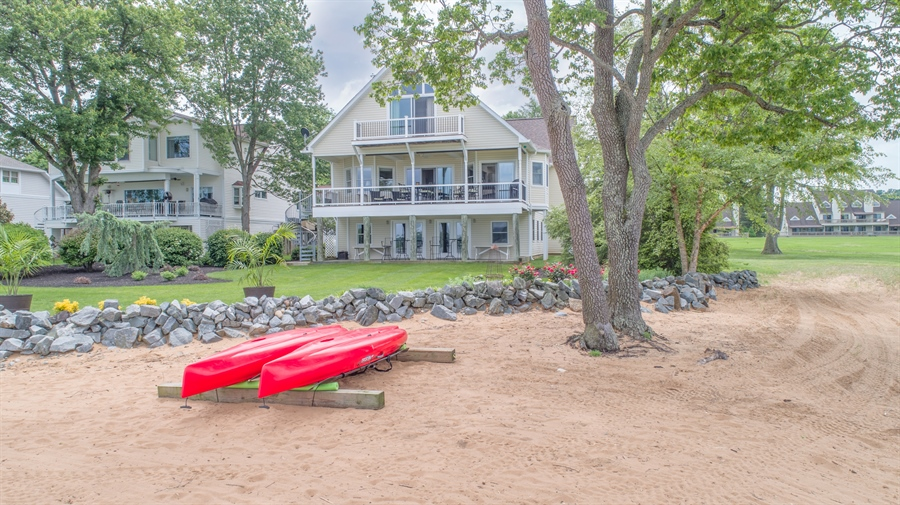 Real Estate Photography - 64 Shipwatch Ln, Chesapeake City, MD, 21915 - PRIVATE BEACH AND BOAT DOCK