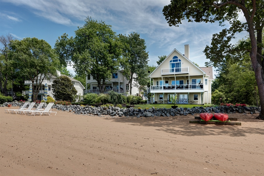 Real Estate Photography - 64 Shipwatch Ln, Chesapeake City, MD, 21915 - PRIVATE BEACH FOR VILLA OWNERS