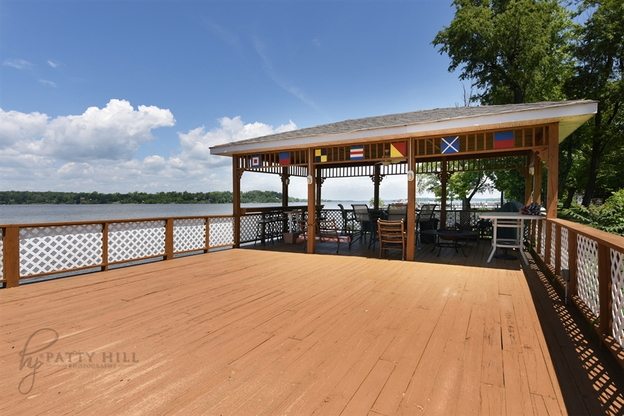 Real Estate Photography - 64 Shipwatch Ln, Chesapeake City, MD, 21915 - PRIVATE WATERFRONT DECK, BRING THE PARTY!