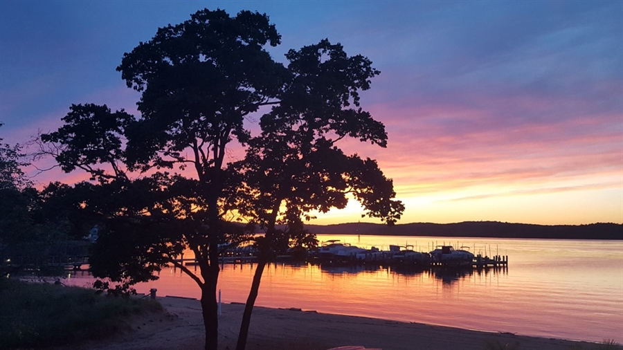 Real Estate Photography - 64 Shipwatch Ln, Chesapeake City, MD, 21915 - Picture Perfect...sunset view Port Herman