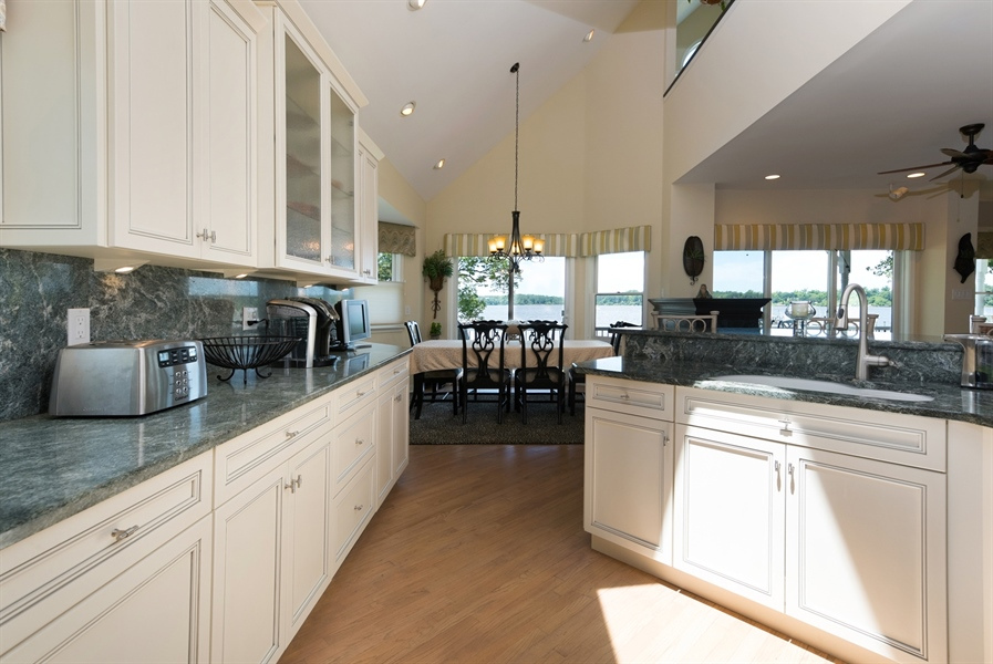 Real Estate Photography - 64 Shipwatch Ln, Chesapeake City, MD, 21915 - GOURMET KITCHEN WITH STAINLESS,GRANITE