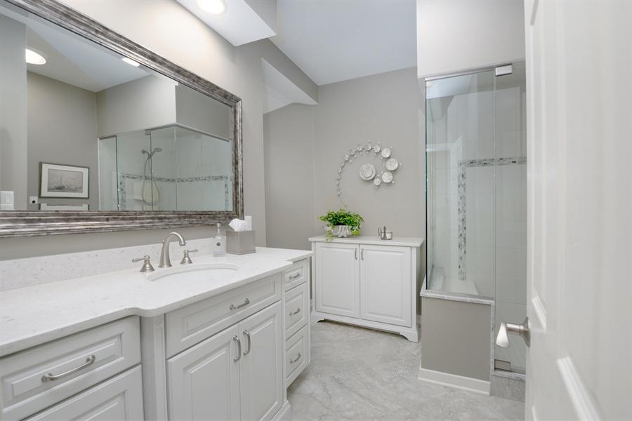 Real Estate Photography - 64 Shipwatch Ln, Chesapeake City, MD, 21915 - MAIN FLOOR BATH, WALK IN SHOWER