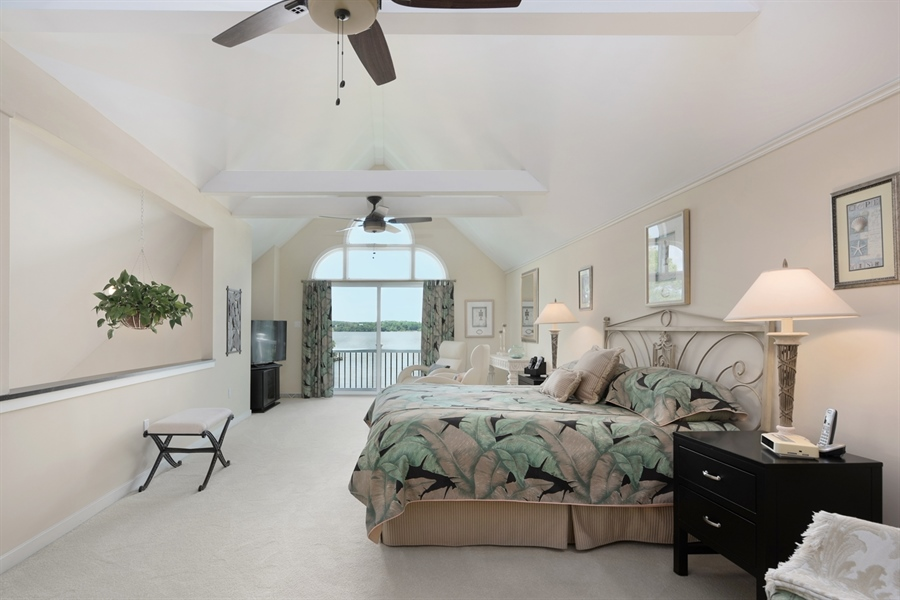 Real Estate Photography - 64 Shipwatch Ln, Chesapeake City, MD, 21915 - WOW, WHAT A MASTER SUITE! AND THE WATERVIEWS......