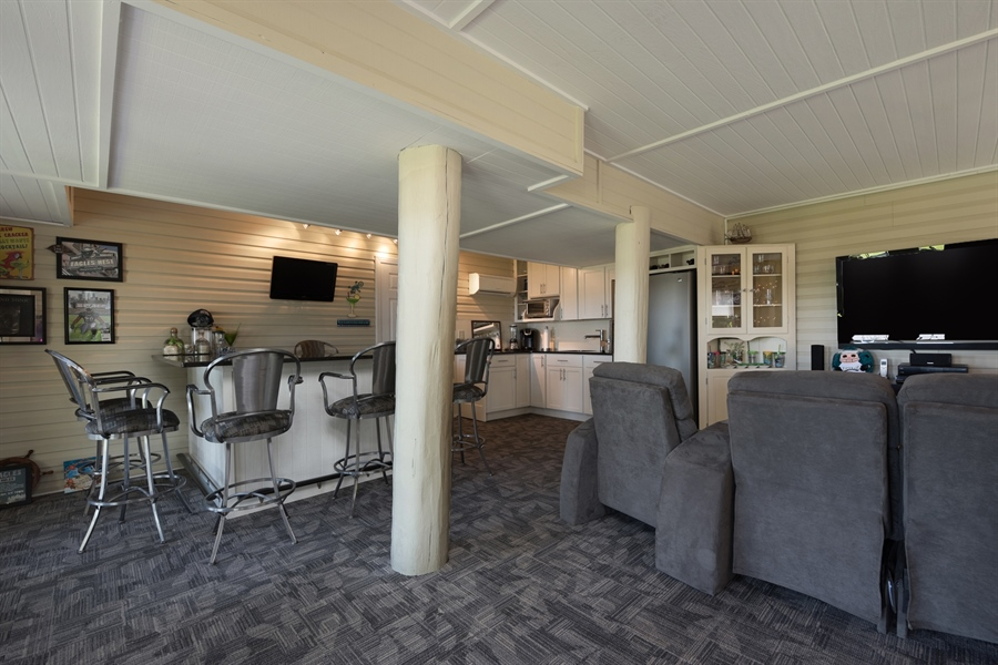 Real Estate Photography - 64 Shipwatch Ln, Chesapeake City, MD, 21915 - THE RIVER ROOM, FRENCH DOORS TO WATERFRONT PATIO!