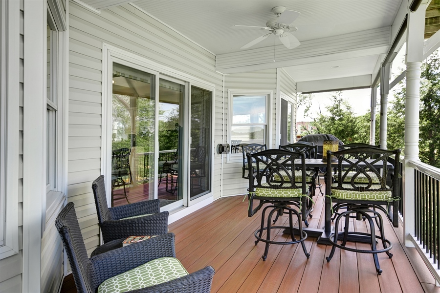 Real Estate Photography - 64 Shipwatch Ln, Chesapeake City, MD, 21915 - DECKS ARE NEW! COVERED OUTSIDE WATERFRONT DINING