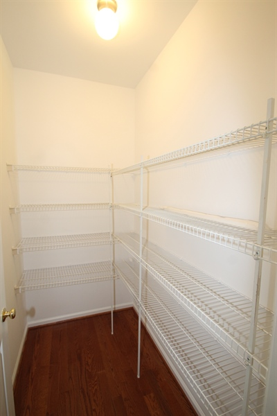 Real Estate Photography - 22 E Periwinkle Ln, Newark, DE, 19711 - Walk-in Pantry