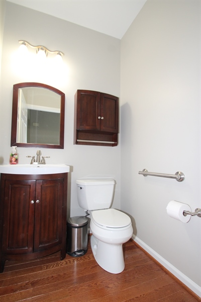 Real Estate Photography - 22 E Periwinkle Ln, Newark, DE, 19711 - Powder Room