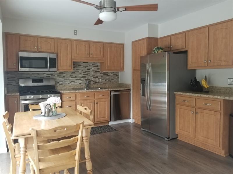 Real Estate Photography - 2605 Dean Dr, Wilmington, DE, 19808 - Updated Kitchen w SS Appliances