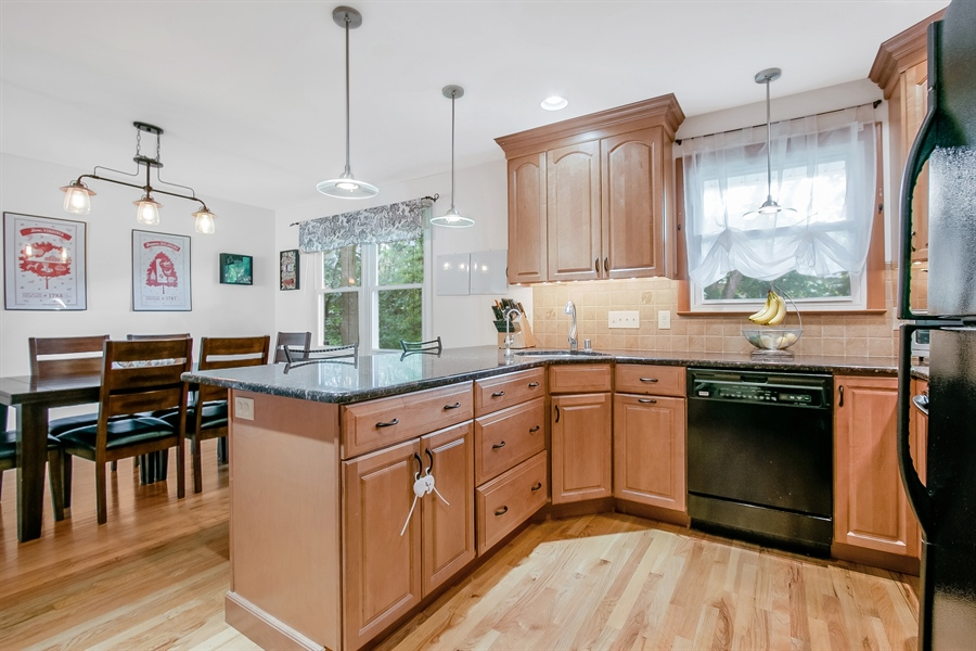 Real Estate Photography - 2040 Floral Dr, Wilmington, DE, 19810 - Kitchen with Granite Counters