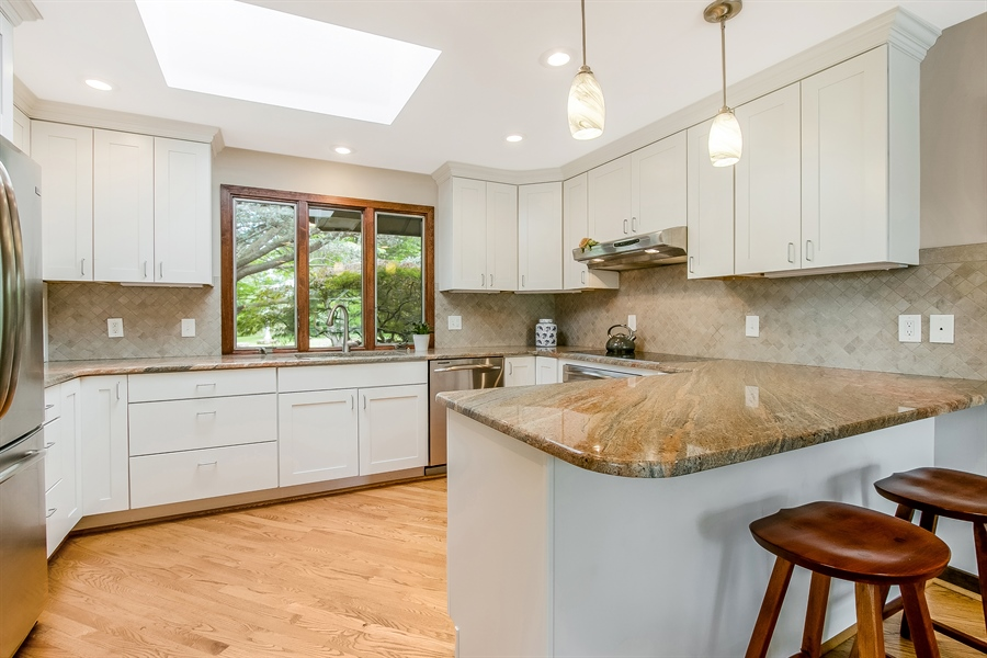 Real Estate Photography - 108 1/2 S Spring Valley Rd, Wilmington, DE, 19807 - Updated Kitchen w/ stainless appliances