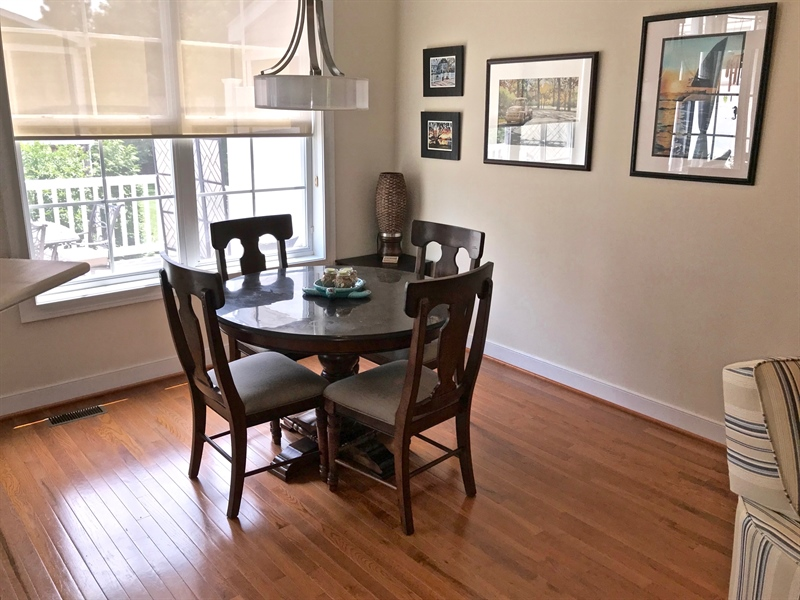 Real Estate Photography - 21414 Catalina Circle #C-12, C-12, Rehoboth  Beach, DE, 19971 - Breakfast Nook