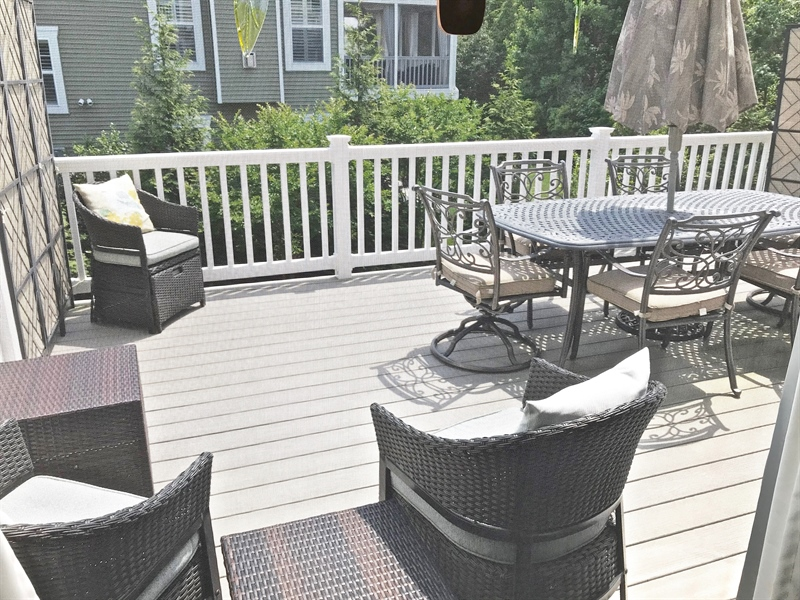 Real Estate Photography - 21414 Catalina Circle #C-12, C-12, Rehoboth  Beach, DE, 19971 - Deck From Screened Porch