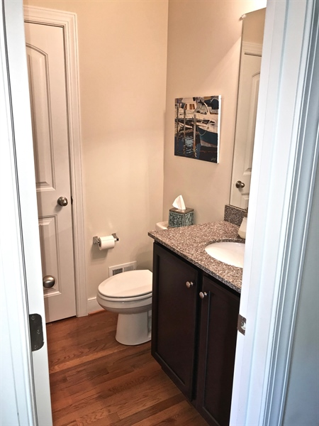 Real Estate Photography - 21414 Catalina Circle #C-12, C-12, Rehoboth  Beach, DE, 19971 - Main Level Powder Room