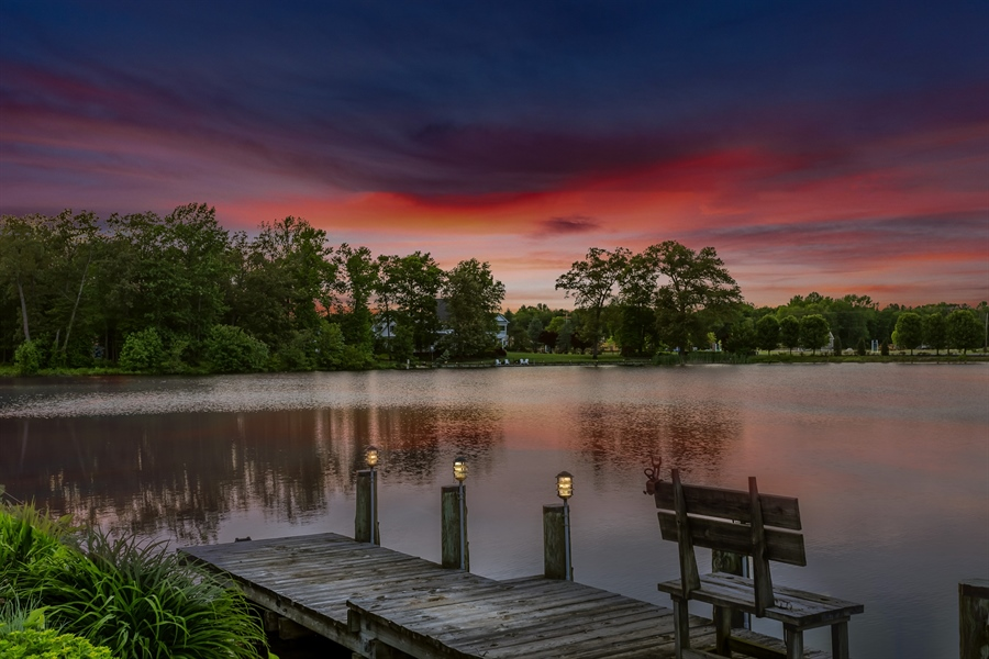 Real Estate Photography - 23125 Lakeview Dr, Millsboro, DE, 19966 - Sunsets don't get any better than this!