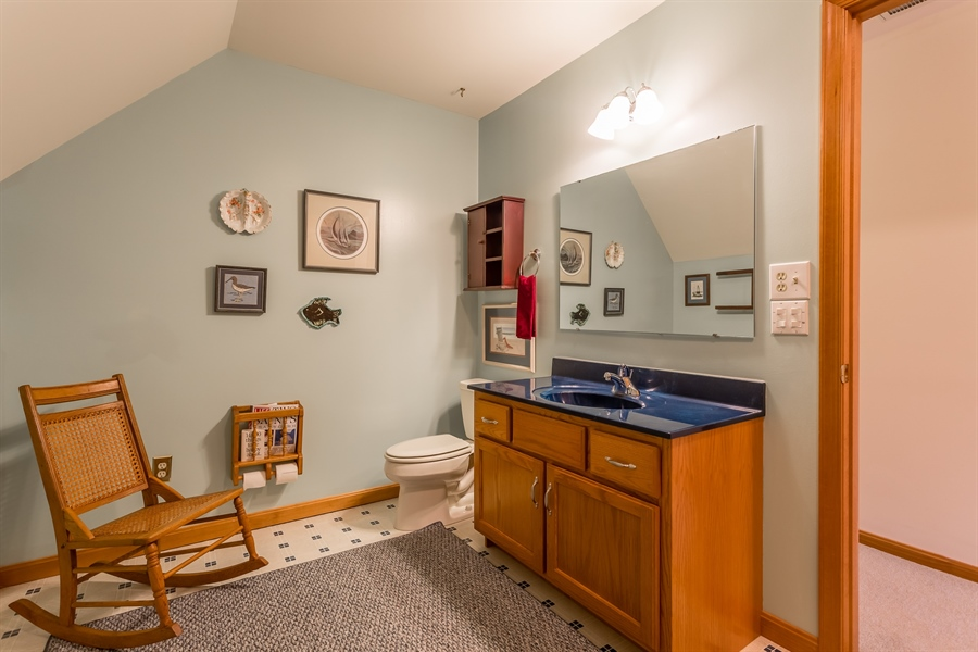 Real Estate Photography - 23125 Lakeview Dr, Millsboro, DE, 19966 - Upstairs full bath