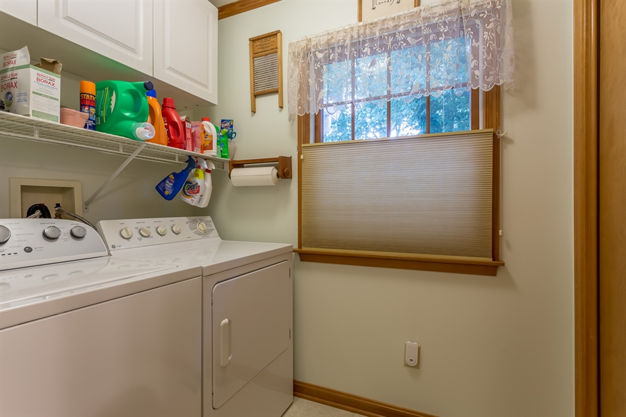 Real Estate Photography - 23125 Lakeview Dr, Millsboro, DE, 19966 - Large laundry room