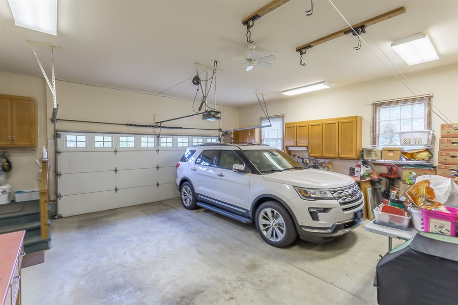 Real Estate Photography - 23125 Lakeview Dr, Millsboro, DE, 19966 - True two car garage