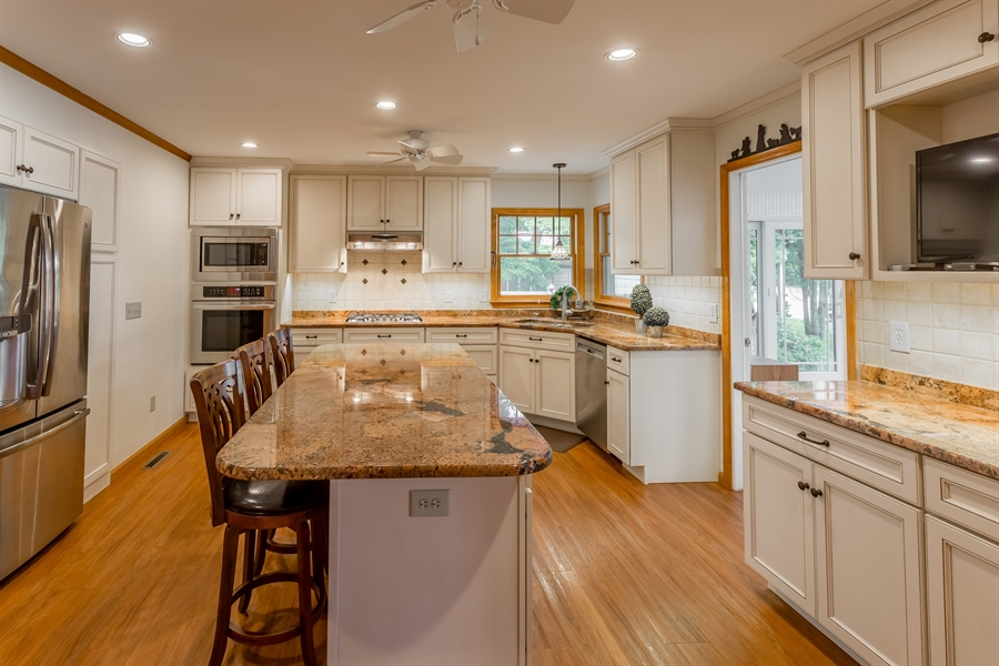 Real Estate Photography - 23125 Lakeview Dr, Millsboro, DE, 19966 - Kitchen redone in 2015