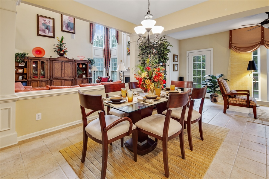 Real Estate Photography - 39 Hempstead Dr, Newark, DE, 19702 - Large Eat In Kitchen w/ Views of the Great Room.