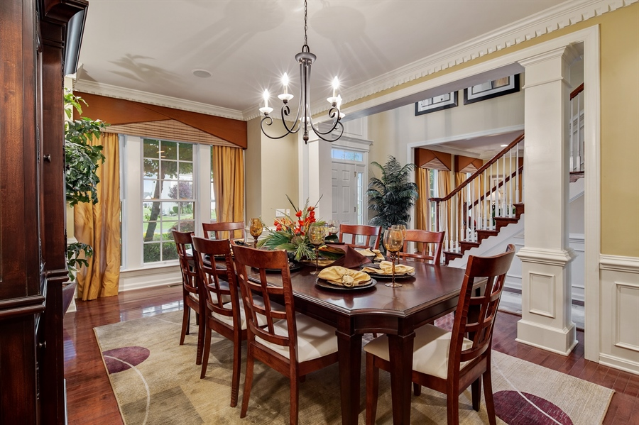 Real Estate Photography - 39 Hempstead Dr, Newark, DE, 19702 - Formal Dining Rm. Custom Moulding Throughout.