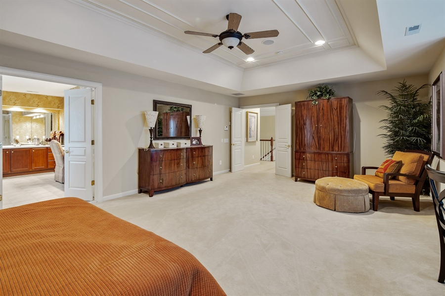Real Estate Photography - 39 Hempstead Dr, Newark, DE, 19702 - Coffered Ceilings, Walk In Closets Lots Of Windows