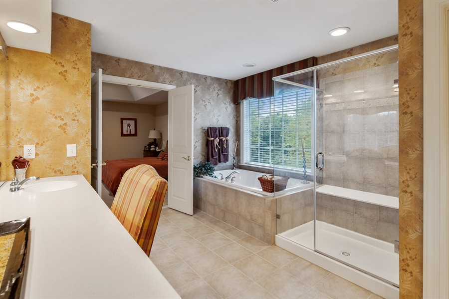 Real Estate Photography - 39 Hempstead Dr, Newark, DE, 19702 - Master Bath w/Dressing Area