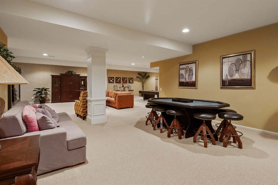 Real Estate Photography - 39 Hempstead Dr, Newark, DE, 19702 - Very Large Finished Walk Out Basement.